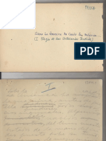 Documento original sobre los artesanos