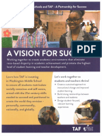 Technology Access Foundation at Seattle Schools brochure