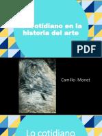 Lo Cotidiano en La Historia Del Arte