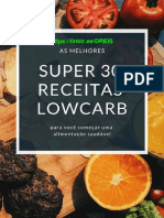 30 Receitas Lowcarb - Oficial [Dieta de 17 Dias]
