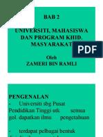 03 Universiti, Mahasiswa & Program Khidmat Masyarakat