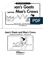 57 Joan's Goats and Moe's Crows