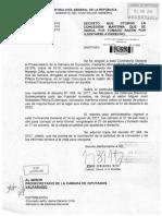 Oficio de Contraloría por casa de Piñera en Caburgua.