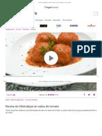 Receta de Albóndigas en salsa de tomate - Karlos Arguiñano - Cocina Abierta