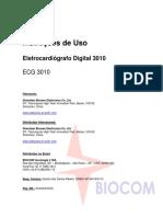 Manual Ecg Biocare 3010
