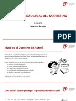 Normatividad del marketing derechos de autor