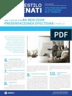 Boletín AES 48 Mayo - Tips Para Realizar Presentaciones Efectivas (Parte 2)