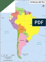 Mapa Mundi, Mapa Del Peru, Mapa de America Del Sur