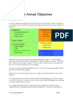 7a Set Annual Objectives
