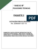 Anexo B Especificaciones Técnicas Cableado CEDA 089-A