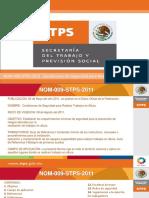 NOM 009 STPS 2011 Condiciones de Seguridad Para Realizar Trabajos en Altura