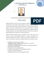 Maestrante Especialista Ingeniero Rodolfo Coronado