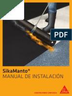 Manual de Instalacion de Sikamantos 2019