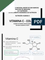 Vitamina C y Colina