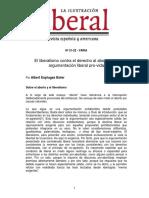 0059 Esplugas Boter - El Liberalismo Contra El Derecho Al Aborto