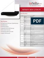 INFINITY BDV-2704-PT