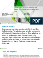 Presentation_21430_MSF21430 Fabrication Parts in Revit Quickly and Easily Go From Design to Fabrication to Fabrication ESTmep and Beyond