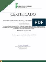 Física Para o Enem Parte1 Cinemática, Dinâmica, Estática e Gravitação-Certificado Digital 33271