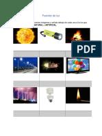 Guia de Trabajo Fuentes de Luz (1)