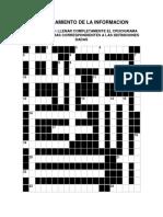 Aseguramiento de La Informacion-crucigrama de Aplicacion