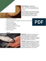 Importancia de Los Alimentos