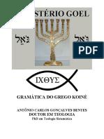 Gramática Da Língua Grega Bentes
