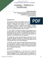 Biotecnologia - Histórico e Tendências