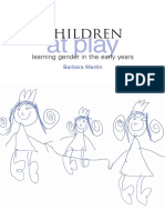 Barbara Martin - Children at Play_ Learning Gender in the Early Years-Trentham Books (2011)