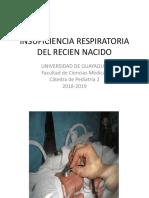 1. Insuficiencia Respiratoria Del Recien Nacido