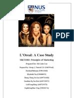 L'Oreal India Case Study