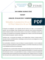 Resumen Planeacion y Estructura Del Proyecto