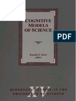 (Minnesota Studies in the Philosophy of Science) Ronald N. Giere (Ed.) - Cognitive Models of Science-University of Minnesota Press (1992)