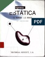 Libro Estatica, Meriam y Kraige, 3era Edición