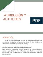 Atribución y Actitudes (2)