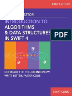 Introduction to Algorithms and Data Structures in Swift 4 Get Ready for Programming Job Interviews. Write Better, Faster Swift Code. (Swift Clinic Book 1) - Karoly Nyisztor