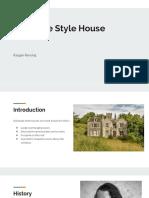 italianate style house presentation