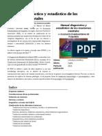 Manual Diagnóstico y Estadístico de Los Trastornos Mentales(1)