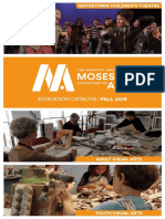Mosesian Center for the Arts Fall 2019 Catalog