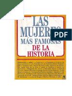 Alvarez Del Real, Maria Eloisa. Las Mujeres Más Famosas de La Historia