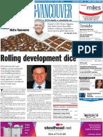 Rolling development dice