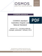 COSMOS Standard V3.0 Including Editorial Changes 0101 2019
