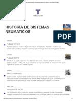 Historia de Sistemas Neumaticos