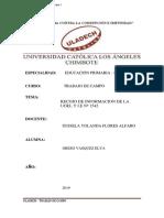Trabajo de Campo Informe