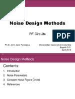 Noise Design Methods
