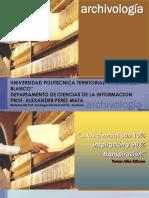 Archivología Tema 1