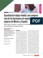 Conciliación trabajo-familia