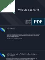 Module Scenario 1
