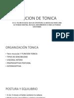 Funcion de Tonica