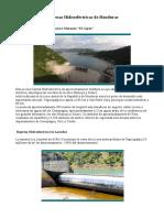 Hidroelectricas de Honduras