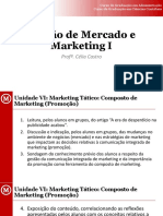 Unidade VI_Marketing Tático_Composto de Marketing_Promoção